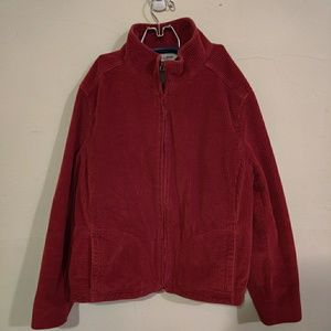L.L. Bean red jacket with warm inside
